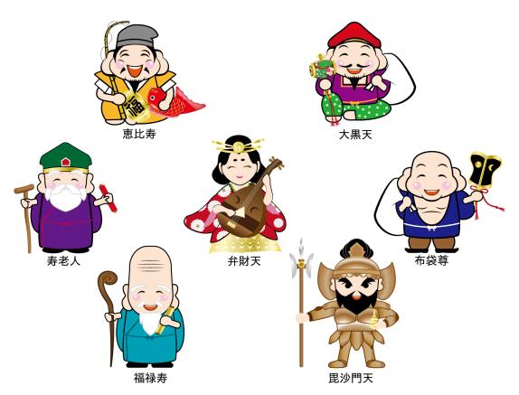 東京 七福神巡り
