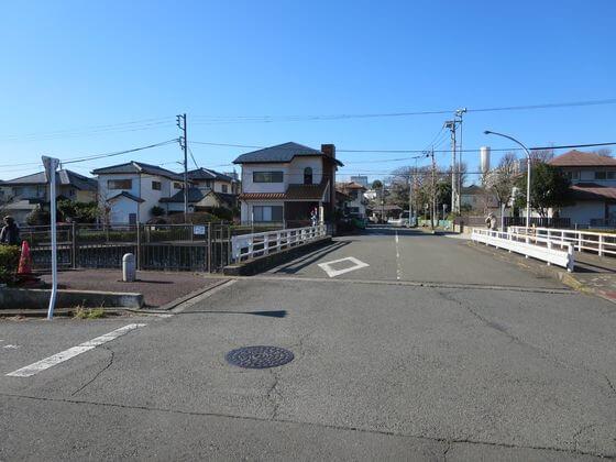恩田川 三蔵寺橋