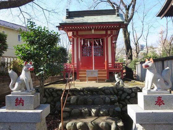 高ヶ坂 熊野神社 桜稲荷