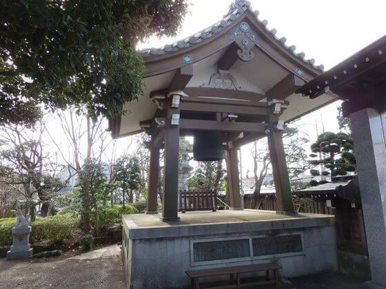 泉龍寺 鐘楼
