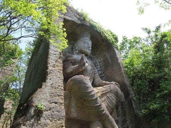 鷹取山 磨崖仏