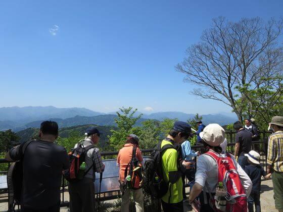 高尾山 山頂 景色