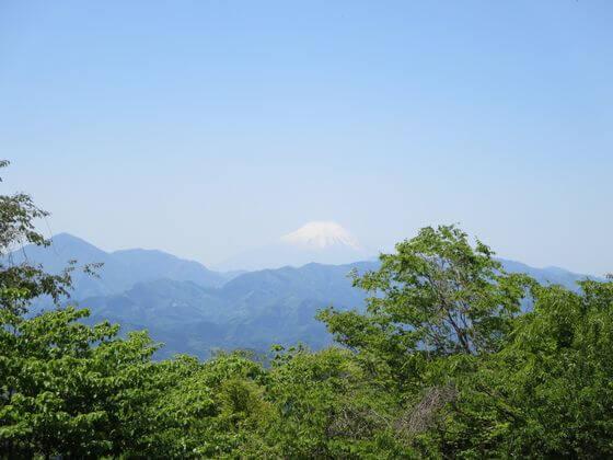 小仏城山 富士山