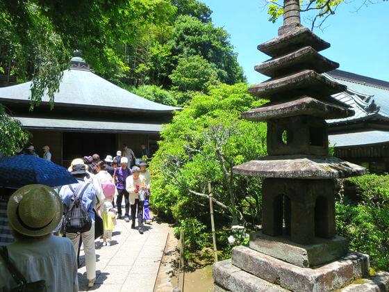 東慶寺 五重石