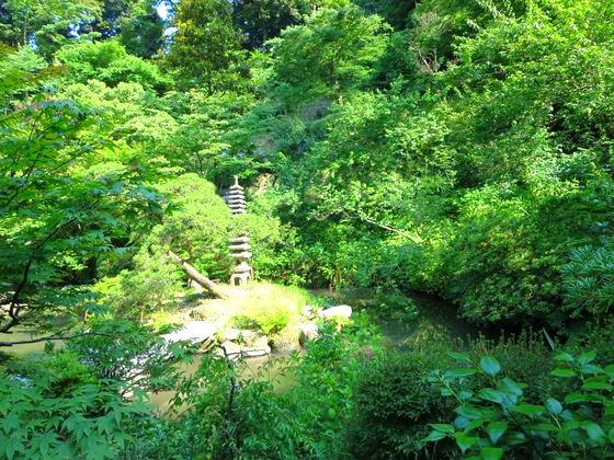 光則寺 池