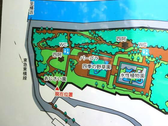 多摩川台公園 地図