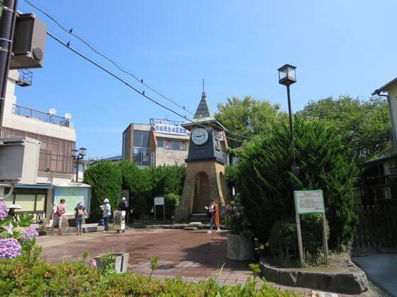 鎌倉駅西口 時計台