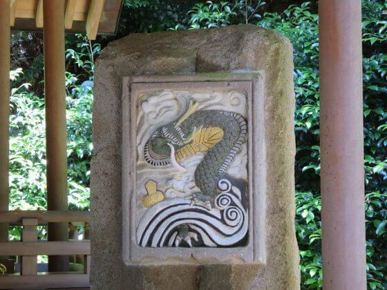 葛原岡神社 昇運の神龍