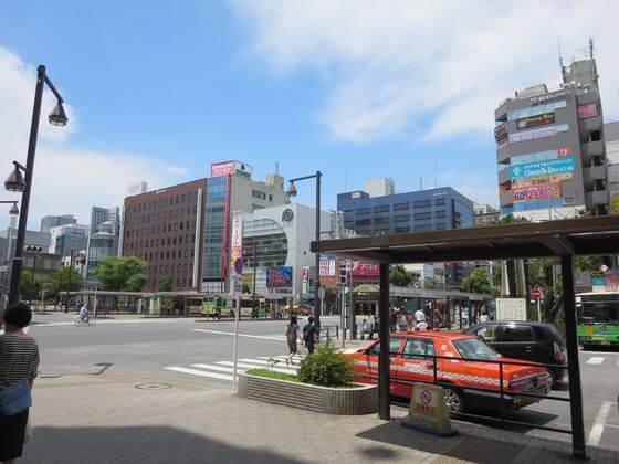 亀戸駅 北口