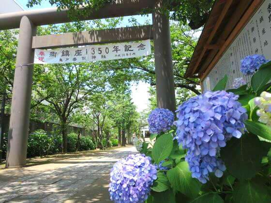 亀戸 香取神社 ニノ鳥居
