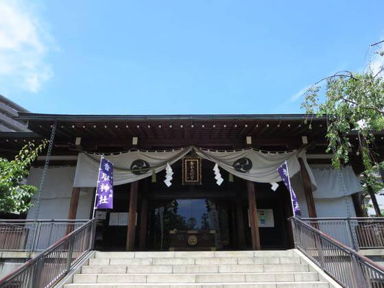 亀戸 香取神社 拝殿