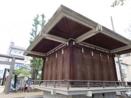亀戸 香取神社 神楽殿