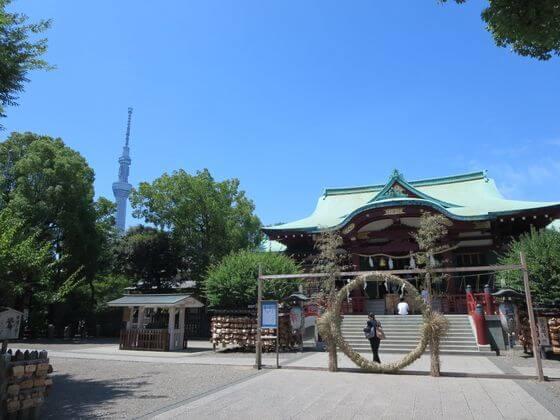 東京十社 亀戸天神社