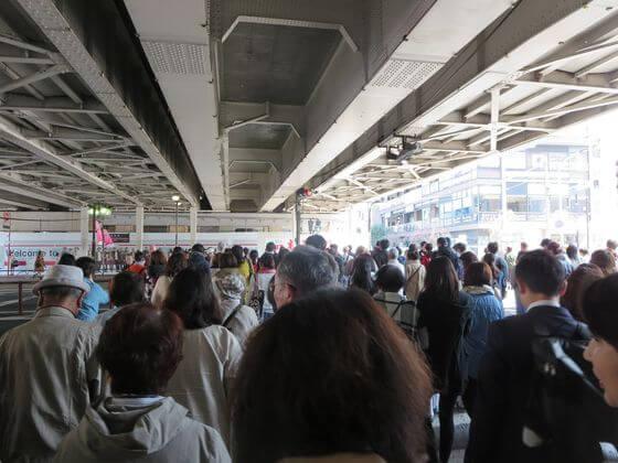 中目黒駅 正面改札口