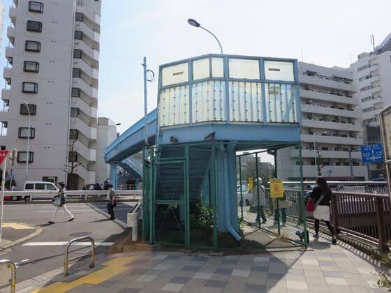 駒沢通り 歩道橋