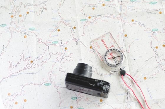 大山 地図