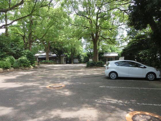 王子神社 駐車場