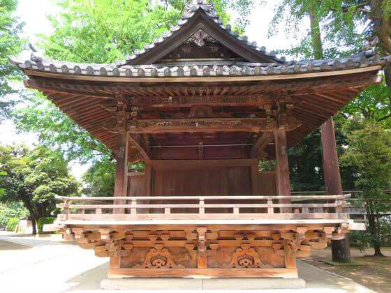 根津神社 神楽殿