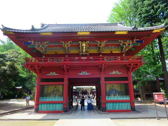 根津神社 楼門