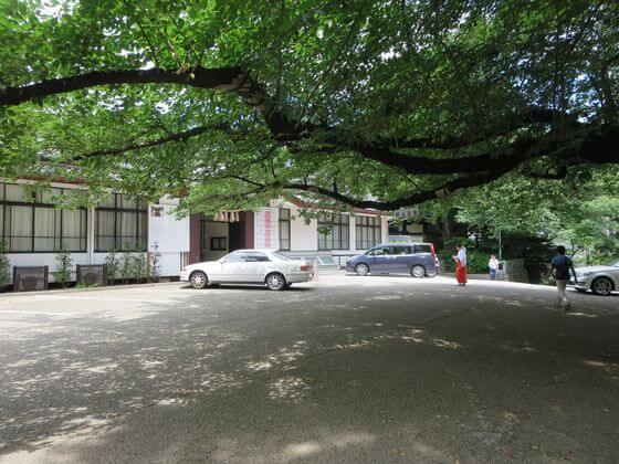 日枝神社 駐車場