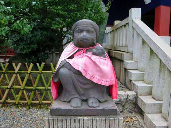 日枝神社 猿 左