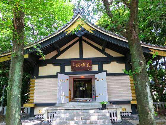 日枝神社 宝物殿