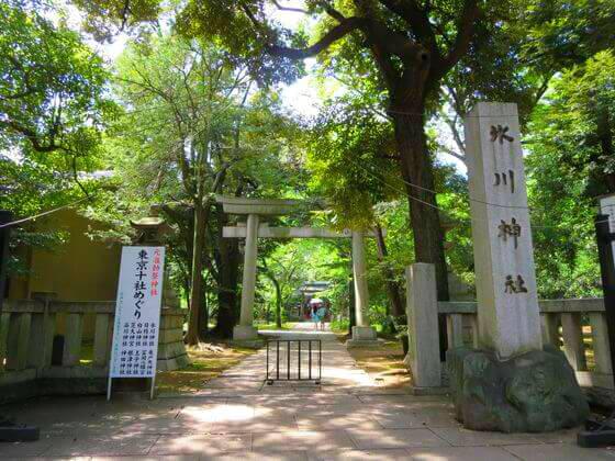 赤坂氷川神社 正面参道