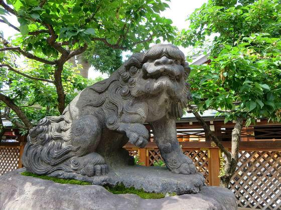 湯島天神 狛犬