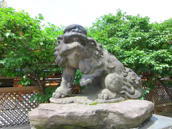 湯島天満宮 狛犬