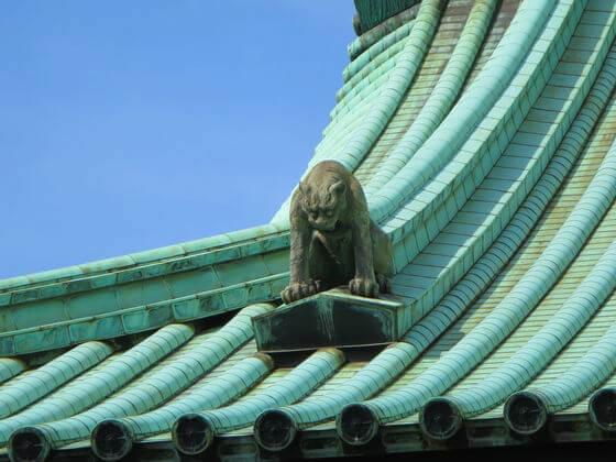湯島聖堂 鬼龍子
