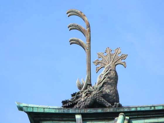 湯島聖堂 鬼犾頭