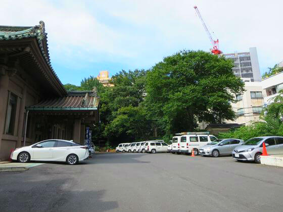 湯島聖堂 駐車場