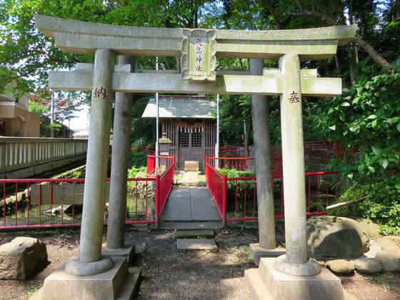 谷保天満宮 厳島神社