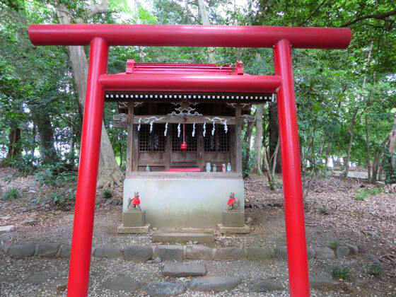 谷保天満宮 稲荷神社