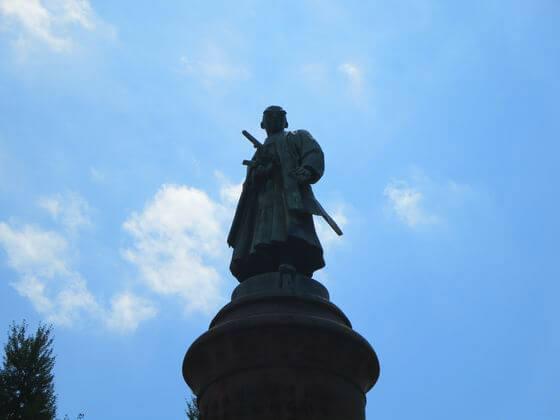 靖国神灶 大村益次郎銅像