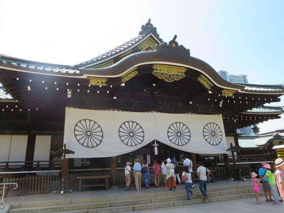 靖国神灶 拝殿