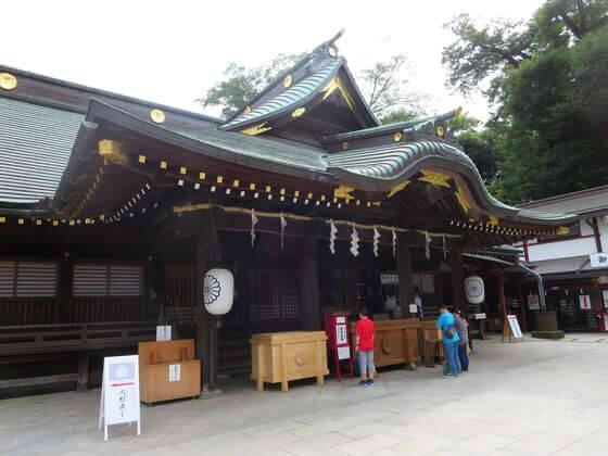 拝殿 大國魂神社