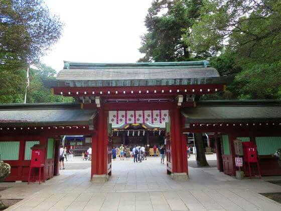 大國魂神社 中雀門