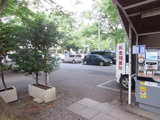 大国魂神社 駐車場