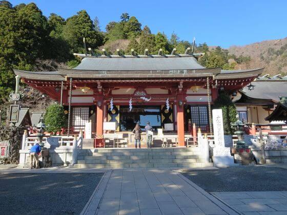 阿夫利神社 下社 拝殿