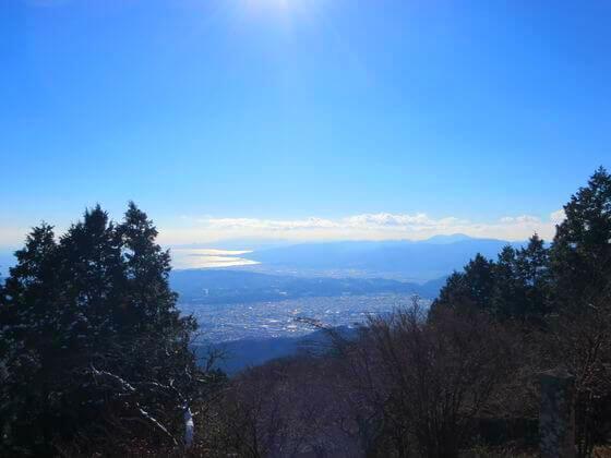 丹沢 大山 山頂 景色