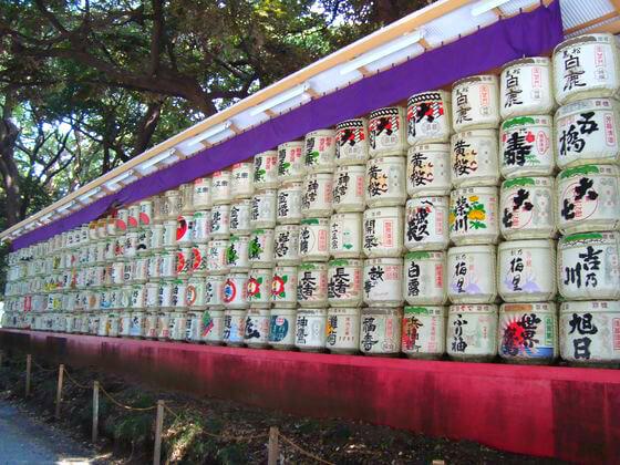 明治神宮 日本酒