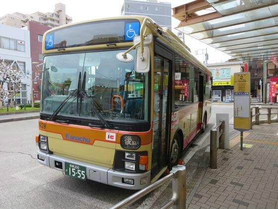 南林間駅 バス