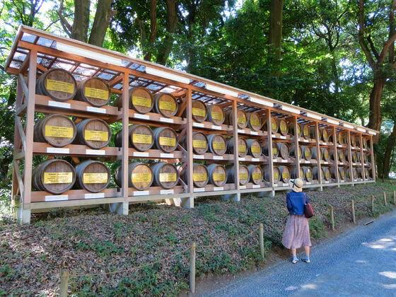 明治神宮 ワイン 樽