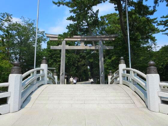 寒川神社 三の鳥居