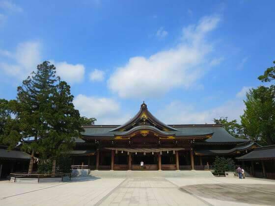 寒川神社 本殿