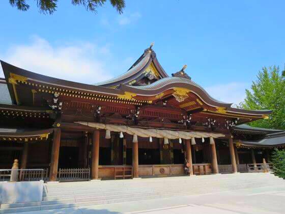 本殿 寒川神社