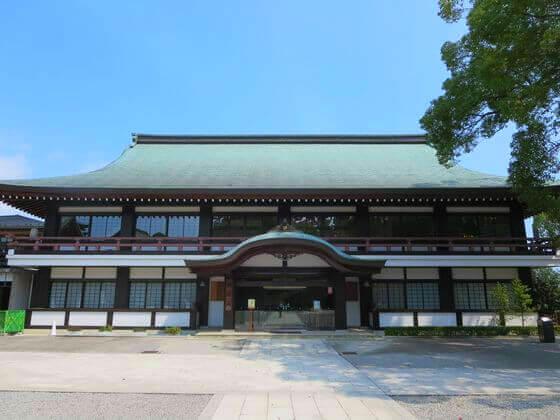 寒川神社 社務所