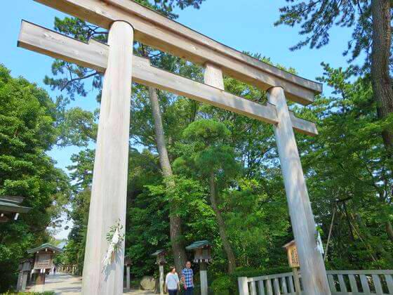 寒川神社 鳥居
