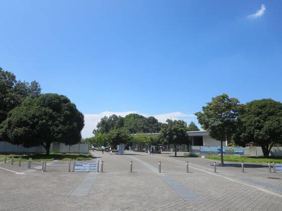 国営昭和記念公園 あけぼの口